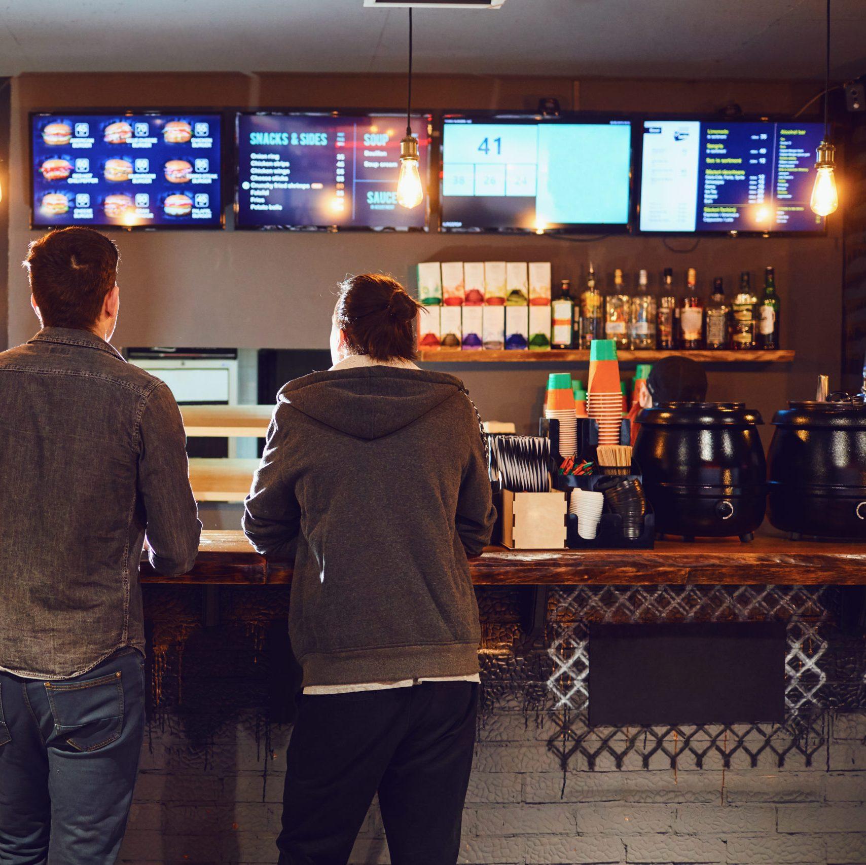 Affichage dynamique afficher ses menus restaurants